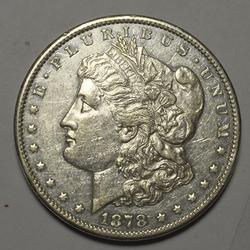 Great Date 1878-CC Morgan Dollar