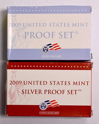 2009 Proof Set Pair, Clad and Silver