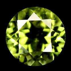 Spring green 1.76ct untreated Peridot solitaire