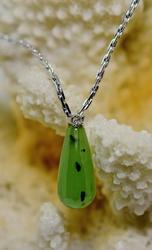 Intriguing 14K Jade Necklace
