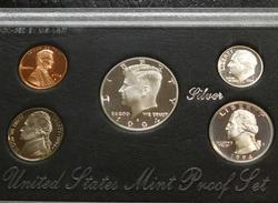 1994 Silver PROOF Set - Mint box & documentation