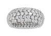 Glorious 5.25 Carat Diamond Wide Eternity Ring