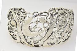 Intricate Sterling Cuff Bracelet