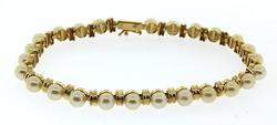 Superb Pearl Bar Bracelet