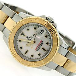 Two-Tone Ladies Rolex Yacht-Master