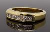 14K Yellow Gold Princess Cut Diamond Band, .50CTW