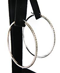 Sterling Silver Vintage Hoop Earrings