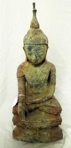 Rare Antique Burmese Buddha Statue Buddhist