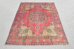 Rare Lovely Semi Antique Persian Tabriz 11.2x8.7