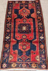Stunning 1950s Armenian Weave Authentic Handmade Vintage Lankoran