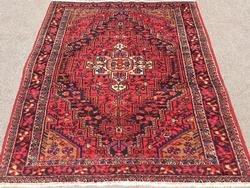 Enchanting 1950s Authentic Handmade Vintage Persian Ferahan