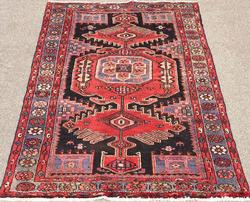 Exquisite 1960s Armenian Authentic Handmade Vintage Lankoran
