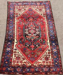 Unique 1960s High Quality Handmade Vintage Persian Qoltoq