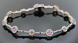 Super Elegant Multi Gemstone Bracelet
