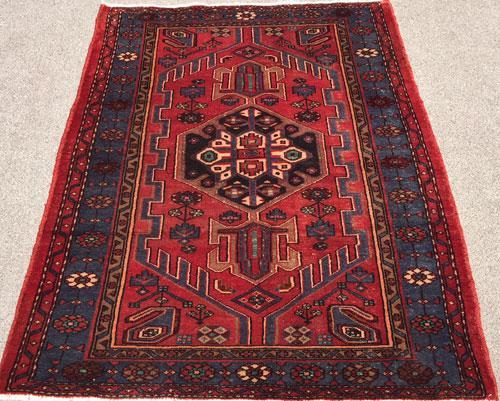 Lovely Mid Century Armenian Weave Vintage Persian Talesh