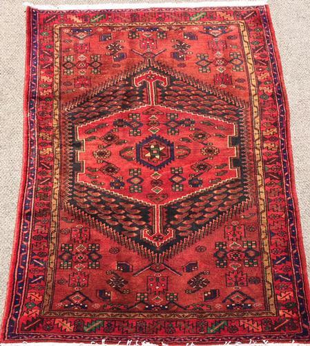 Enchanting Mid-20th C. Armenian Weave Vintage Persian Talesh