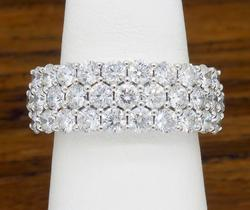 18K White Gold 2.00CTW Diamond Ring