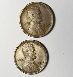 1910 S AND 1911 S  Lincoln Cents