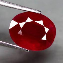 Lavish 4.71ct top blood red Ruby