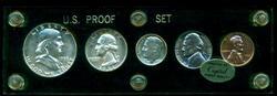 Superb Gem 1953 5-piece Proof Set. Custom holder