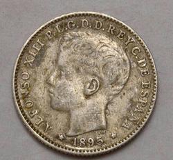 1895 20 Centavos Puerto Rico