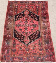 Lovely Mid Century Handmade Vintage Persian Asad-Abad