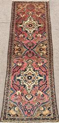 Charming  Mid Century Armenian Weave Vintage Talesh