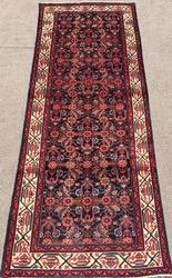 Lovely Mid-20th C. Authentic Handmade Vintage Persian Meshg-Abad
