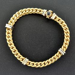 14kt Solid Yellow Gold Braided Rope Bracelet