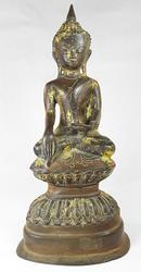 Rare Antique Artifact Shan Era Burmese Buddha Statue 1800's