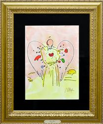 Peter Max, Angel With Heart