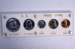 1961 Proof Set in Capital Plastics Holder