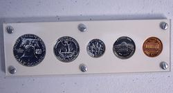 1963 Proof Set in Capital Plastics Holder