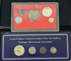 Two Coin Displays from Estate