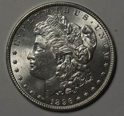 BU 1896 Morgan Silver Dollar