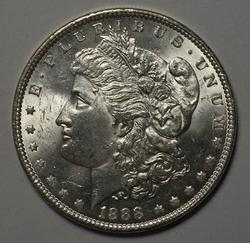 BU 1888 Morgan Silver Dollar