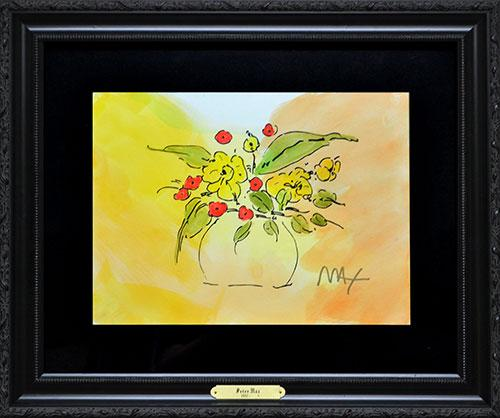 Peter Max Flower Vase Usauctionbrokers