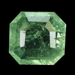 Vivid green unheated 1.64ct real Colombian Emerald