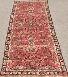 Enchanting 1950s Authentic Handmade Persian Vintage Persian Tafshanjian