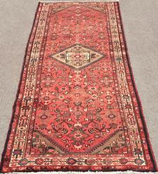 Handsome 1950s Authentic Handmade Vintage Persian Ferahan