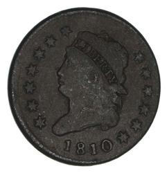 1810 Classic Head Large Cent - Circulated