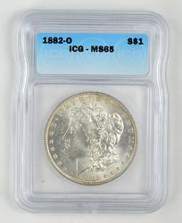 MS65 1882-O Morgan Silver Dollar - ICG Graded