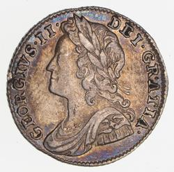 1741 Great Britain Sixpence
