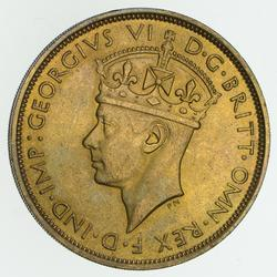 1938 British South Africa 2 Shillings - Circulated