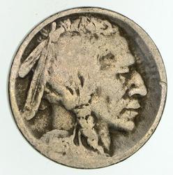 1913-S Buffalo Indian Nickel - Circulated