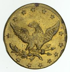 1860's Sutler Civil War Token - Circulated
