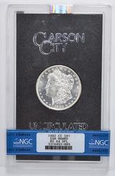 MS64 DPL 1882-CC Morgan Silver Dollar - GSA Hoard - NGC Graded