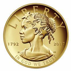 2017 American Liberty 225th Anniversary 1oz Gold Proof