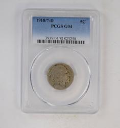 G04 1918/7 Buffalo Indian Nickel - PCGS Graded
