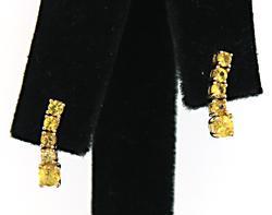 Delightful Yellow Sapphire Dangle Earrings